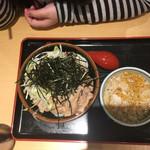 角中うどん店 - 2017/04/06 肉つけうどん(3玉) 780円
