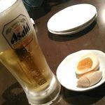 新宿かっぱ - ビールとお通し
