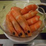 杭州小籠湯包 - 料理写真:酔っ払い海老