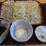 手打蕎麦処 蕎酔庵 いっこう - 3種盛り蕎麦