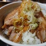 げんき食堂 - 焼豚丼(中)