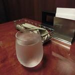 天馬 - キリリと冷えたお水が美味しい