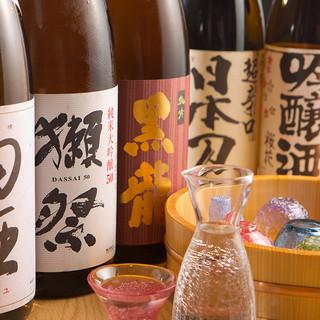 厳選した佐渡島の地酒
