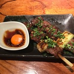 酒菜家 - ハラミ串980円