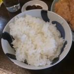 川島屋 - 飯。