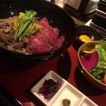 Meet Meats 5バル  - ランチ限定☆炙りしんたま御膳