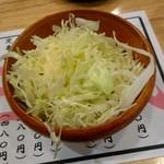 居酒屋三蔵 - お通しのキャベツ