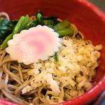 そば処 橋本 - 冷たいお蕎麦