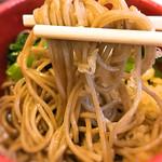 そば処 橋本 - 細めのお蕎麦ですが、美味しい