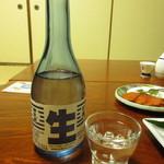 ほづみ亭 - 野武士 冷酒 700円 (2017.3)