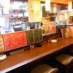 イタリアンバル Tino - 店内(カウンター席)