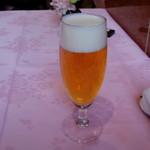 赤坂 四川飯店 - 醸造家の夢のビール、ザ・プレミアムモルツ マスターズドリームです。
