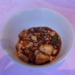 赤坂 四川飯店 - 3月20日に食べた陳麻婆豆腐・その2です。