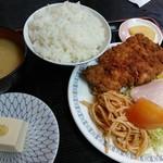 肉の宝屋 - (2017/2月)ロースカツ定食