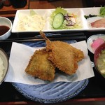 魚正 - 料理写真:日替定食680円