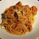 ラシーヌ ミートボールアンドローカル テーブル - たくさんお肉のボロネーゼ