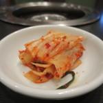 新羅亭 - 白菜キムチ