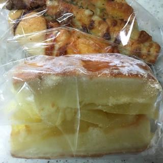 BRUGGE洛北 - 料理写真:明太ちくわ、アップル