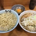 ラーメン二郎 - 【2017.3.31】小つけ麺あつもり¥880+生たまご¥50