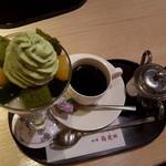 茶寮都路里 - 特選抹茶パフェ