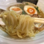 鶏そば 小箱 - 鶏煮込みそば醤油(780円)麺リフト