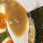 鶏そば 小箱 - 鶏煮込みそば醤油(780円)スープ