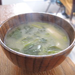 PUBLIC KITCHEN cafe - お味噌汁