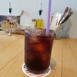 オニジャス コーヒー ヴィレッジ - 「アイスコーヒー」550円税抜