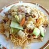 西安刀削麺 - 料理写真:五目あんかけバリそば