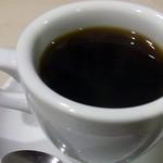 名曲・珈琲 新宿 らんぶる - コーヒーカップの厚み。写真だと分からないのかも知れない。