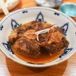 東京肉しゃぶ家 - オックステールの煮つけ