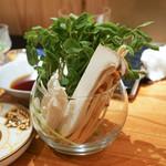 東京肉しゃぶ家 - しゃぶしゃぶの野菜