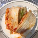焼肉ハウスリン - 白菜キムチ。