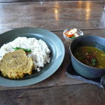 6521653 - 塩豚とキャベツのスープかリー