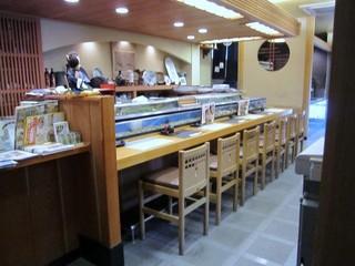 豊鮨 - お寿司屋さんなんでカウンターもありましたが4人だったから個室のお座敷を利用させて頂きました
