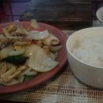 65211044 - B定食 海鮮と季節野菜の特製炒め