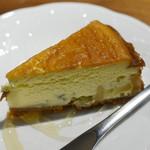 銀座2丁目ミタスカフェ - チーズケーキ