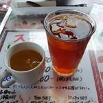 恵比寿屋 トラットリア - スープ&アイスティ