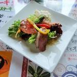 恵比寿屋 トラットリア - 前菜サラダ