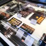 ユーゴ&ヴィクトール - チョコレートのディスプレイ