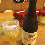 横浜家系ラーメン 代々木商店 - 瓶ビール 390円