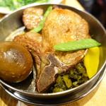 劉の店 - 鉄道弁当のおかず