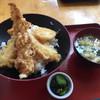 道の駅 安達 智恵子の里 - 料理写真:天丼