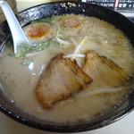 東龍軒 - 「チャーハンセット」煮玉子らーめん(単品700円)