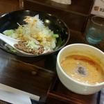 65215425 - 神田町限定に魅かれた「担担つけ麺 (950円)」