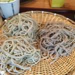 65216043 - 食べ比べ蕎麦(^ω^)