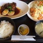 65217759 - 豚角煮玉子&チキン南蛮¥1,000-(税込)