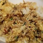 台湾ケンさん - しっかり混ぜてから食べました