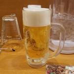 台湾ケンさん - 「ビール 一番搾り<生中> (390円)」