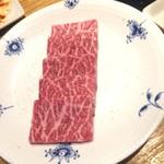 和牛焼肉 KINZO - 仙台牛白の上カルビ
